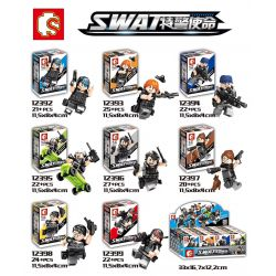SHENG YUAN SY 12392 12393 12394 12395 12396 12397 12398 12399 SY1239 1239 Xếp hình kiểu Lego SWAT SPECIAL FORCE Game For Peace SWAT Peaceful Elite / Special Police Mission Hundreds Of Eight Military B