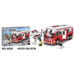 Winner 5025 Xếp hình kiểu Lego ROCK CITY Locke City Bus Xe Buýt