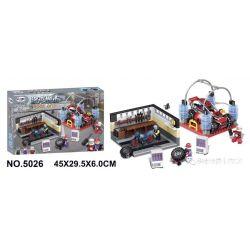Winner 5026 Xếp hình kiểu Lego ROCK CITY Locke City Auto Repair Plant Cửa Hàng Sửa Chữa ô Tô