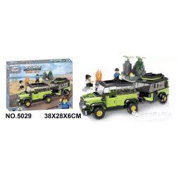 Winner 5029 Xếp hình kiểu Lego ROCK CITY Locke City Jeep 牧 Xe Jeep.