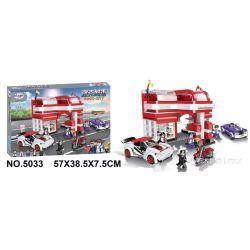Winner 5033 Xếp hình kiểu Lego ROCK CITY Locke City Gas Khí Ga