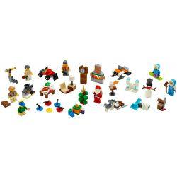 LARI 11446 Xếp hình kiểu Lego CITY City Advent Calendar Festival City Calendar Lịch Mùa Vọng Thành Phố 234 khối