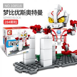 SEMBO 108518 Xếp hình kiểu Lego ULTRAMAN Sembo Block Cosmic Hero Altman Dreamier Dreamier. 284 khối