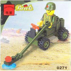Enlighten 0271 Qman 0271 Xếp hình kiểu Lego Century Military Mundile Car Xe Hơi
