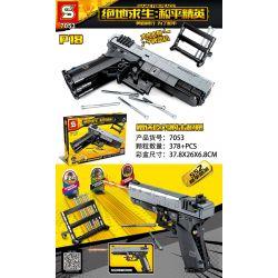 SHENG YUAN SY 7053 Xếp hình kiểu Lego GAME FOR PEACE Jedi Survival Peace Elite P18 P18. 378 khối
