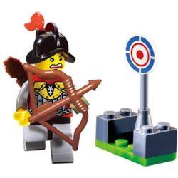 Enlighten 1002 Qman 1002 Xếp hình kiểu Lego Knights Castle Castle Range Phạm Vi 16 khối