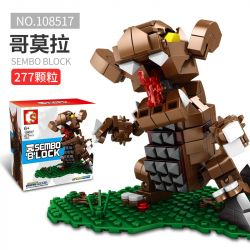 SEMBO 108517 Xếp hình kiểu Lego ULTRAMAN Sembo Block Cosmic Hero Altman Cormora Cormora. 277 khối
