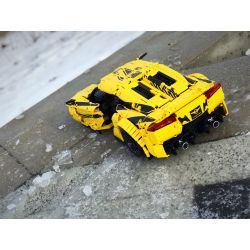REBRICKABLE MOC-20510 20510 MOC20510 Xếp hình kiểu Lego TECHNIC Rezvani Beast Alpha Rezwani Beast Alpha 2683 khối
