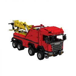 REBRICKABLE MOC-0583 0583 MOC0583 Xếp hình kiểu Lego TECHNIC Scania 8X8 Extreme Haul Truck Scania 8X8 xe tải chở hàng cực đoan 2744 khối