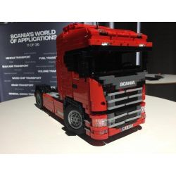 REBRICKABLE MOC-6086 6086 MOC6086 Xếp hình kiểu Lego TECHNIC New Generation Scania Truck Xe tải Scania thế hệ mới 1661 khối
