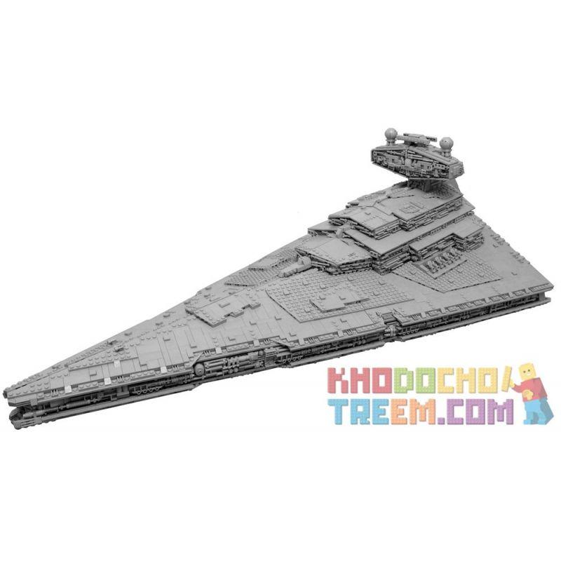 REBRICKABLE MOC-9018 9018 MOC9018 Xếp hình kiểu Lego STAR WARS Imperial Star Destroyer With Perfect Interior Imperial Star Destroyer với nội thất hoàn hảo 15310 khối