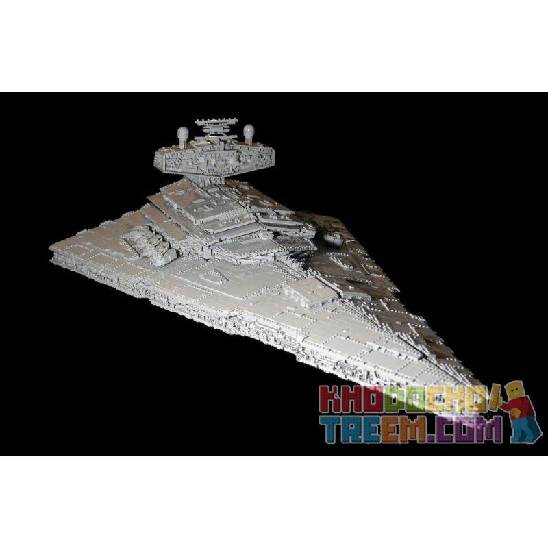 REBRICKABLE MOC-23104 23104 MOC23104 Xếp hình kiểu Lego STAR WARS Imperial Star Destroyer Coercion 77525 Cưỡng chế Sao Hoàng đế 77525 19579 khối