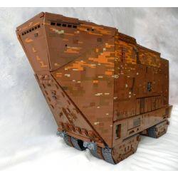 REBRICKABLE MOC-12922 12922 MOC12922 Xếp hình kiểu Lego STAR WARS Desert Creeper With Perfect Interior Cây leo sa mạc với nội thất hoàn hảo 13567 khối