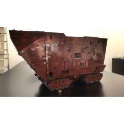 REBRICKABLE MOC-13289 13289 MOC13289 Xếp hình kiểu Lego STAR WARS UCS Desert Crawler Trình thu thập thông tin sa mạc của UCS 12119 khối