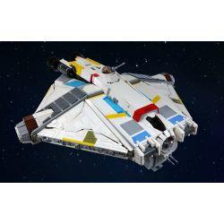 REBRICKABLE MOC-12025 12025 MOC12025 Xếp hình kiểu Lego STAR WARS UCS Ghost-Rebel 11672 khối
