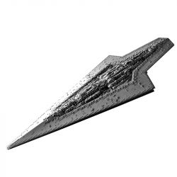 MOULDKING 13134 REBRICKABLE MOC-15881 15881 MOC15881 Xếp hình kiểu Lego STAR WARS Enforcer Class Dreadnought Starship Phi thuyền dreadnought lớp Enforcer 7284 khối