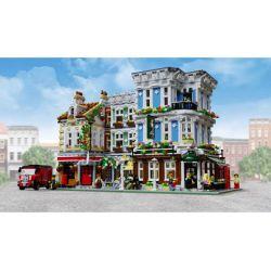 REBRICKABLE MOC-28774 28774 MOC28774 URGE 10185 10197 Xếp hình kiểu Lego CREATOR Bricktoria Queen Bar gồm 2 hộp nhỏ 3412 khối