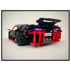 QIZHILE 23029 REBRICKABLE MOC-12560 12560 MOC12560 Xếp hình kiểu Lego TECHNIC Lamborghini Centenario 3450 khối