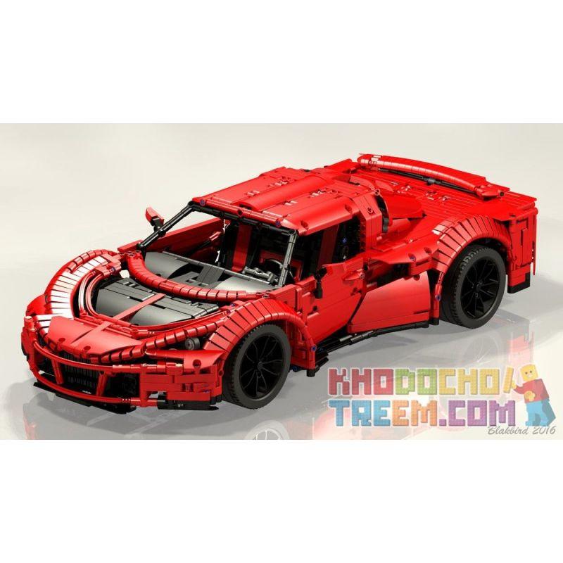REBRICKABLE MOC-6142 6142 MOC6142 Xếp hình kiểu Lego TECHNIC Hennessy Venom GT Spyder 3006 khối