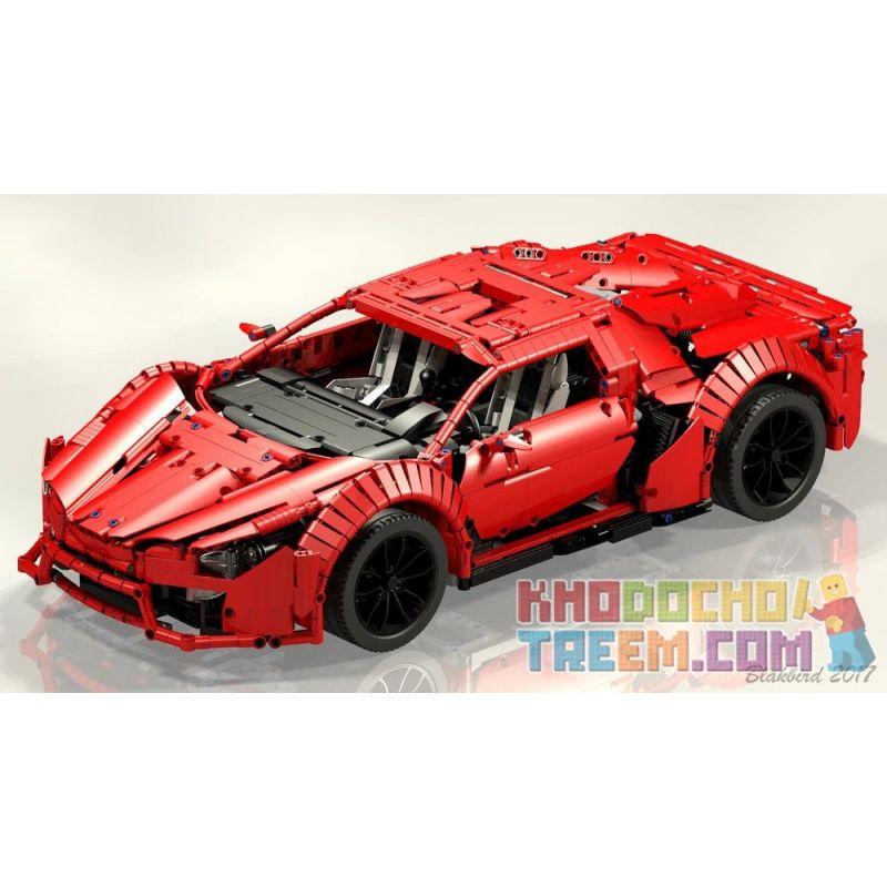 REBRICKABLE MOC-7951 7951 MOC7951 Xếp hình kiểu Lego TECHNIC Lycan Supercar Siêu xe Lycan 2813 khối