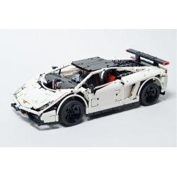 REBRICKABLE MOC-3918 3918 MOC3918 Xếp hình kiểu Lego TECHNIC Lamborghini Gallardo Supercar Siêu xe Lamborghini Gallardo 1676 khối