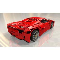 REBRICKABLE MOC-1767 1767 MOC1767 Xếp hình kiểu Lego TECHNIC Starscream 2046 khối