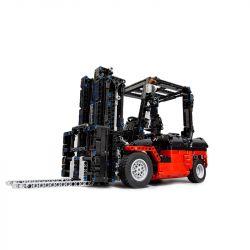 MOULDKING 13106 REBRICKABLE MOC-3681 3681 MOC3681 Xếp hình kiểu Lego TECHNIC Forklift MK II Xe nâng MK II 1768 khối