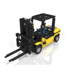 REBRICKABLE MOC-1939 1939 MOC1939 Xếp hình kiểu Lego TECHNIC Custom Forklift Xe nâng tùy chỉnh 1579 khối