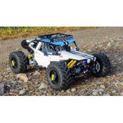 MOULDKING 18002 REBRICKABLE MOC-19517 19517 MOC19517 MOC-19664 19664 MOC19664 Xếp hình kiểu Lego TECHNIC 4WD RC Buggy ATV điều khiển từ xa 4WD gồm 2 hộp nhỏ 1912 khối điều khiển từ xa