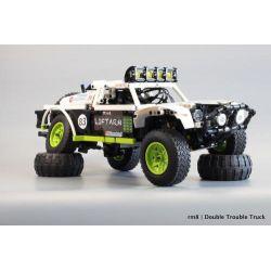 REBRICKABLE MOC-4874 4874 MOC4874 Xếp hình kiểu Lego TECHNIC Baja Trophy Truck Xe tải Baja Trophy 651 khối