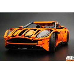 REBRICKABLE MOC-7202 7202 MOC7202 Xếp hình kiểu Lego TECHNIC Aston Martin DB11 2931 khối