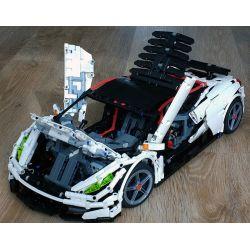 CAROLINE CW001 REBRICKABLE MOC-14052 14052 MOC14052 Xếp hình kiểu Lego Technic TECHNIC Ultimatum GTR V10 2961 khối