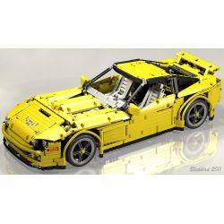 REBRICKABLE MOC-0033 0033 MOC0033 Xếp hình kiểu Lego TECHNIC Sunshine Corvette Supercar Siêu tàu hộ tống Sunshine 2168 khối