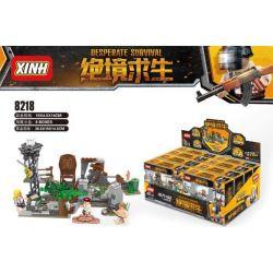 XINH 8218 Xếp hình kiểu Lego SURVIVAL GREAT ESCAPE Desperate Survival Scene 4 Cảnh 4