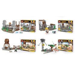 XINH 8218 Xếp hình kiểu Lego SURVIVAL GREAT ESCAPE Desperate Survival Cảnh 4