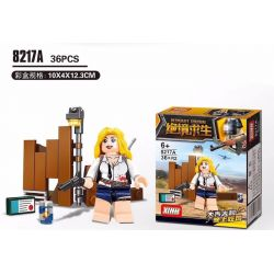 XINH 8217 Xếp hình kiểu Lego SURVIVAL GREAT ESCAPE Desperate Survival 6 nhân vật nhỏ