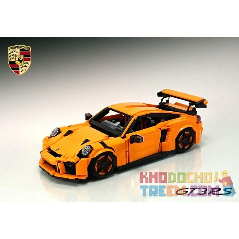 HSANHE 6954 MOULDKING 13129 REBRICKABLE MOC-25866 25866 MOC25866 SHENG YUAN SY SY0003 0003 Xếp hình kiểu Lego CREATOR Porsche GT3 RS 1055 khối