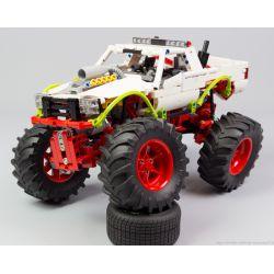 REBRICKABLE MOC-20507 20507 MOC20507 Xếp hình kiểu Lego TECHNIC Monster Truck Xe tải hạng nặng 849 khối