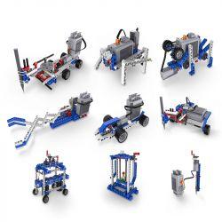 DOUBLEE CADA C71001 71001 Xếp hình kiểu Lego TECHNIC Structure And Engineering Technology Electric Set Cấu trúc và Công nghệ Kỹ thuật Bộ điện 400 khối có động cơ pin