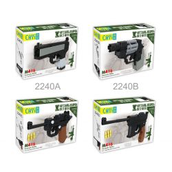CAYI 2240 Xếp hình kiểu Lego NATIONAL WEAPON M416 Assault Rifle 6 Combinations Súng trường tấn công M416 6 tổ hợp 685 khối
