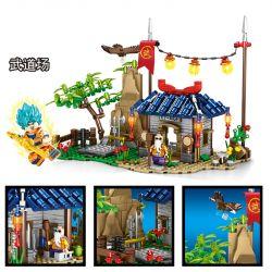 SHENG YUAN SY SY1404 1404 Xếp hình kiểu Lego DRAGON BALL SUPER DragonBall Dragon Ball Strongest Battle Martial Arts Field Lĩnh Vực Võ Thuật. 445 khối
