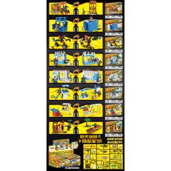 XINH 8229 Xếp hình kiểu Lego PUBG BATTLEGROUNDS Peaceful Elite Eat Chicken Battlefield Air Investment Battle 8 Airdrop Battle 8 Mô Hình 601 khối