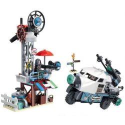 Winner 8054 Xếp hình kiểu Lego WASTE SOIL War Of Relief Waste Water Station Trạm Bơm Wasteland 256 khối