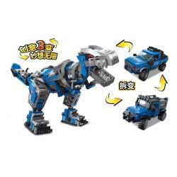 Enlighten 4803 Qman 4803 Xếp hình kiểu Lego IDEAS Unlimited Ideas Unlimited Mechanical Technology Công Nghệ Máy Móc 389 khối
