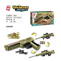 Enlighten 4802 Qman 4802 Xếp hình kiểu Lego IDEAS Unlimited Ideas Unlimited Jedi Weapon Vũ Khí Jedi 202 khối