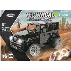XINGBAO XB-22001 22001 XB22001 Xếp hình kiểu Lego TECHNIC Mercedes-Benz Maybach G650 651 khối