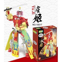 CAYI 10017 Xếp hình kiểu Lego TRANSFORMERS Yu Ji 359 khối