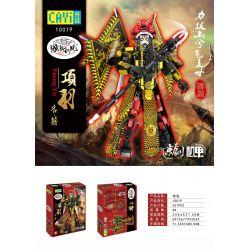 CAYI 10019 Xếp hình kiểu Lego TRANSFORMERS XIANGYU Peking Opera Xiang Yu Hạng Vũ 537 khối