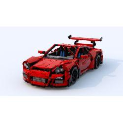 REBRICKABLE MOC-9351 9351 MOC9351 Xếp hình kiểu Lego TECHNIC Porsche 911gt3rs Customized Porsche 911gt3rs tùy chỉnh 3106 khối