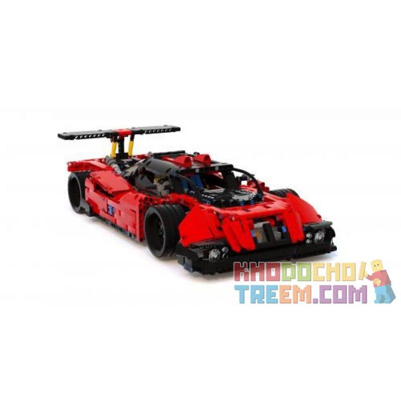 REBRICKABLE MOC-6112 6112 MOC6112 Xếp hình kiểu Lego TECHNIC 24 Hours Le Mans Full Rc 24 giờ Le Mans đầy đủ rc 1707 khối